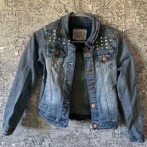 Girls Levi's Studded Jean Jacket